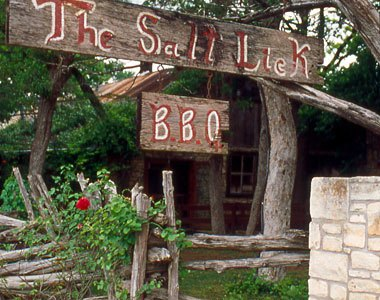 The Salt Lick Barbecue restaurant in Hill Country